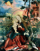 The Stuppach Madonna,1518 /シュトゥパハの聖母子
