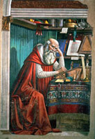 St. Jerome in his Study,1480