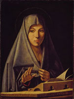 Virgin Annunciate /受胎告知の聖母(模写)