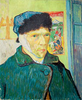 Self Portrait with Bandaged Ear, 1889