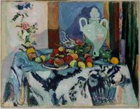 Blue Still Life, 1907 (oil on canvas)
