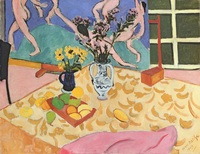 Still Life with �fDance�f, 1909 (oil on canvas)