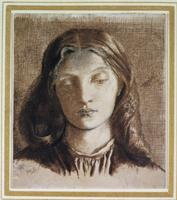 Elizabeth Siddal, 1855