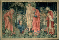 The Adoration of the Magi, made by William Morris and Co., M