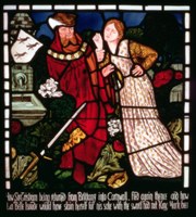 Isolde the Fair attempts to kill herself, from 'The Story of