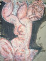 Pink Nude, Caryatid