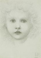 A child's head, 1883