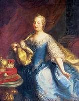 Portrait of the Empress Maria Theresa of Austria (1717-80)