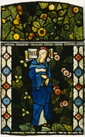 The Blessed Virgin Mary, Morris & Co.