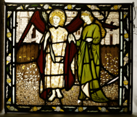 Amor and Alcestis, Morris & Co. panel from the 'Legend of Go