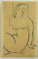 Seated Woman, 1914