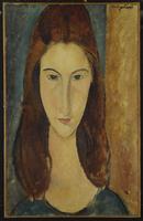 Jeanne Hebuterne, 1917-18