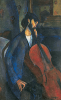 The Cellist, 1909