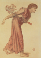 Study for the Figure of Love in Dante's Dream at the Time of