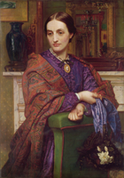 Portrait of Fanny Holman Hunt
