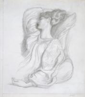 Study of Mrs William Morris