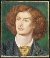 Portrait of Algernon Charles Swinburne, 1861