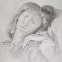 No.0684 Elizabeth Siddal, c.1860