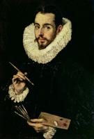 Portrait of Jorge Manuel Theotokopoulos