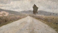 The Tuscan Road, c.1899
