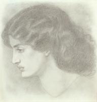 Jane Morris, 1861
