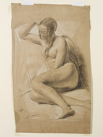 Seated Female Nude, 1847
