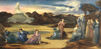 The Passing of Venus, c.1875 22040133260| 写真素材・ストックフォト・画像・イラスト素材|アマナイメージズ