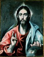 Cristo Salvator Mundi, c.1600