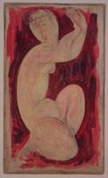 Red Caryatid, 1913  22040147835| 写真素材・ストックフォト・画像・イラスト素材|アマナイメージズ