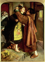 The Escape of a Heretic, 1559, 1857 22040149188| 写真素材・ストックフォト・画像・イラスト素材|アマナイメージズ