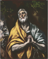 The Repentant St. Peter, c.1600-05
