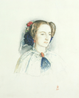 Portrait of Effie Ruskin, later Lady Millais