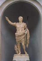 Augustus of Prima Porta, c.20 BC (marble) 22040164584| 写真素材・ストックフォト・画像・イラスト素材|アマナイメージズ