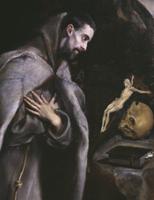 St. Francis meditating, c.1586-92