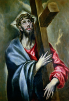 Christ Clasping the Cross, 1600-10