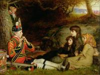 An Idyll of 1745, 1884 22040207407| 写真素材・ストックフォト・画像・イラスト素材|アマナイメージズ