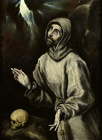 St. Francis of Assisi Receiving the Stigmata, c.1595