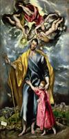 St. Joseph and the Christ Child, 1597-99 22040225939  写真素材・ストックフォト・画像・イラスト素材 アマナイメージズ