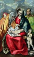 The Holy Family with St.Elizabeth, 1580-85 22040235639  写真素材・ストックフォト・画像・イラスト素材 アマナイメージズ