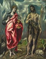 St John the Evangelist and St. John the Baptist, 1605-10 22040235643  写真素材・ストックフォト・画像・イラスト素材 アマナイメージズ