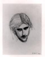 Study for the Head of Ferdinand for 'Ferdinand Lured by Arie 22040239753| 写真素材・ストックフォト・画像・イラスト素材|アマナイメージズ