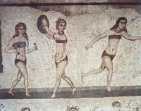 Italy, Sicily, Piazza Armerina, Villa Romana del Casale (UNE 22040242860| 写真素材・ストックフォト・画像・イラスト素材|アマナイメージズ
