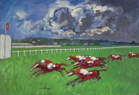 Blue Grass Races - Horseracing at Kentucky Racecourse; Blue