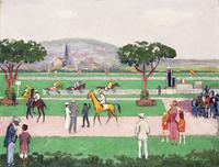 The Racecource, Deauville; Deauville, le Champ de Course, c.