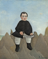 Boy on the Rocks, 1895-97 (oil on linen)