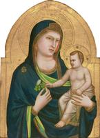 Madonna and Child, c.1320-30 (tempera on panel)