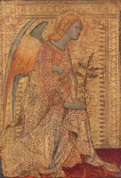 The Angel of the Annunciation, c.1333 (tempera on panel)
