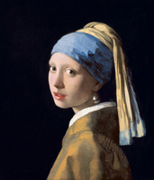 Girl with a Pearl Earring/真珠の耳飾の少女(修復前)