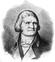 Christophe Philippe Oberkampf (1738-1815) Protestant industrialist who created the manufacture of Jouy canvas in 1768, here c. 1