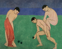 Game of Bowls, 1908 (oil on canvas)